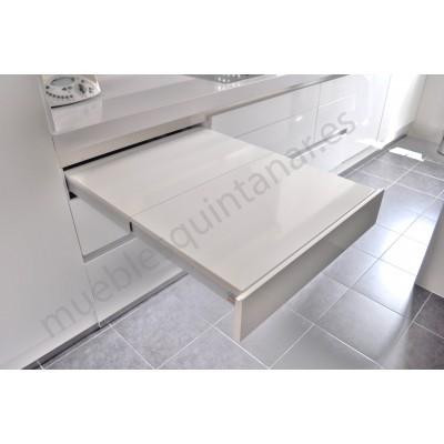 Mesa auxiliar extraible muebles quintanar - Mesa extraible cocina ...