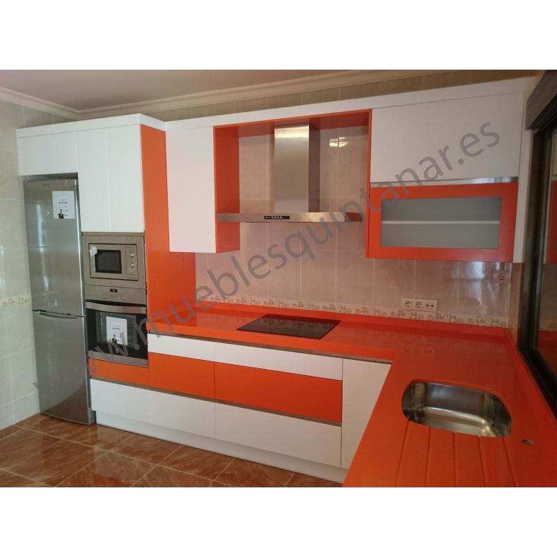 Muebles de cocina lacados  Muebles Quintanar