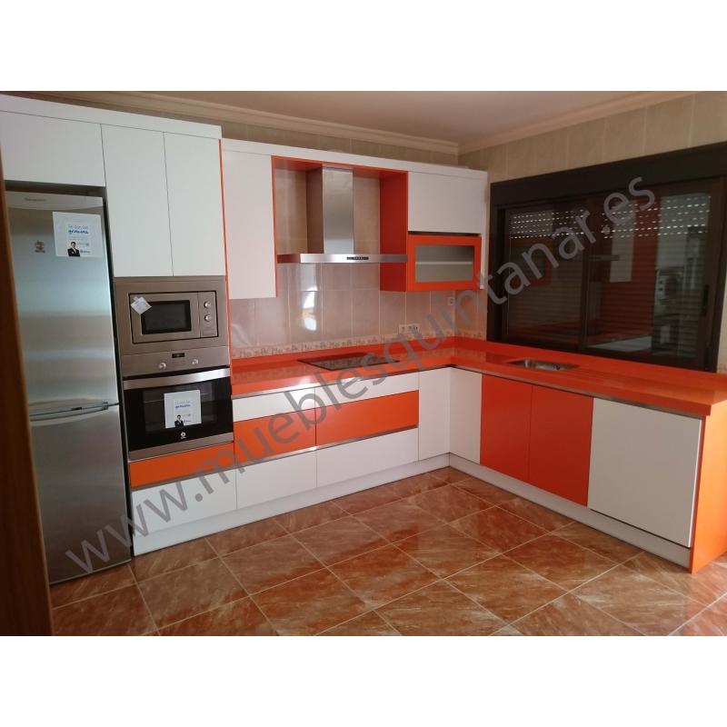 Muebles de cocina lacados en blanco ideas - Cocinas lacadas en blanco ...