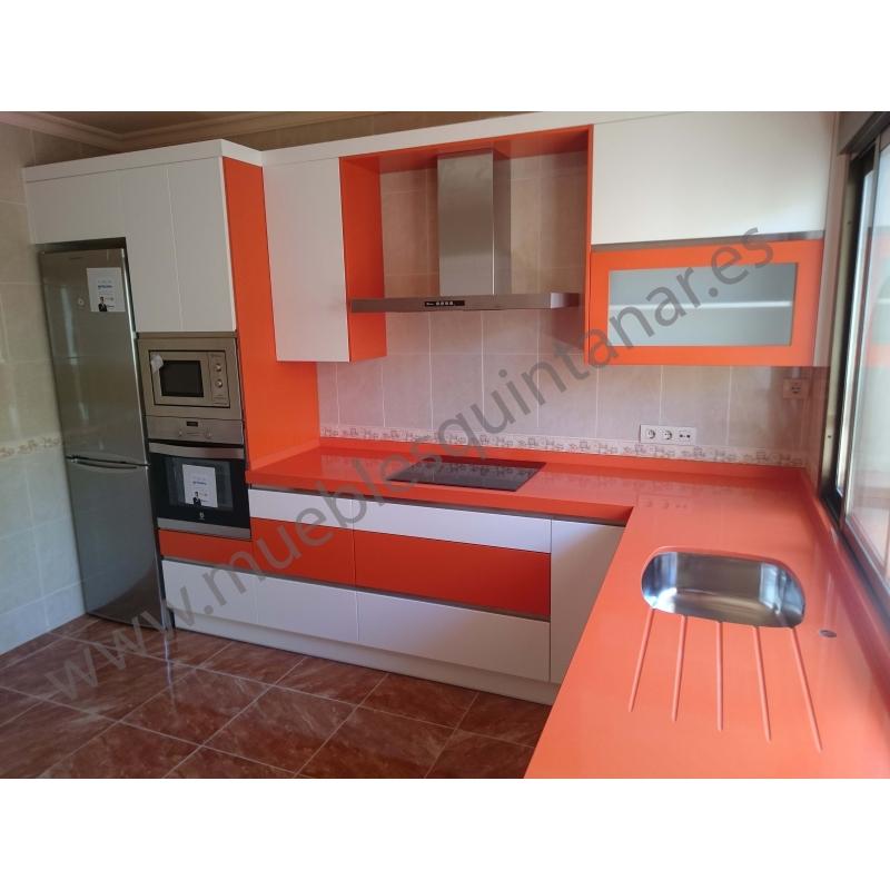 Muebles de cocina lacados - Muebles Quintanar