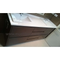 Mueble lacado color chocolate