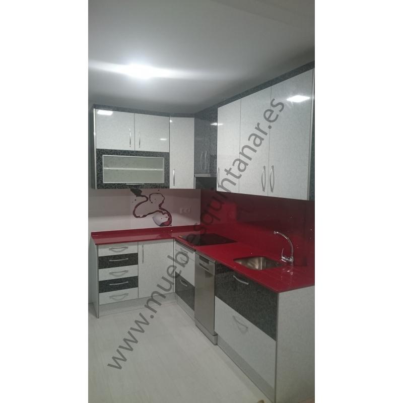 Muebles de cocina en formica muebles quintanar - Formica para cocinas ...